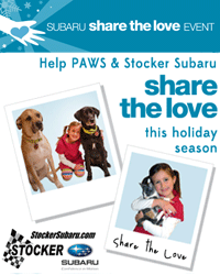 Stocker Subaru's Share the Love Event